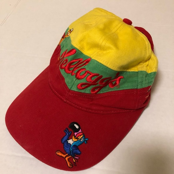 bb4bcd8cd Vintage NASCAR Kellogg Racing Terry Labonte Hat